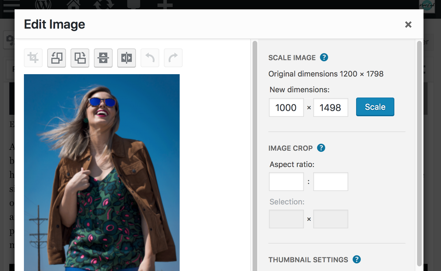 Optimize photos on WordPress