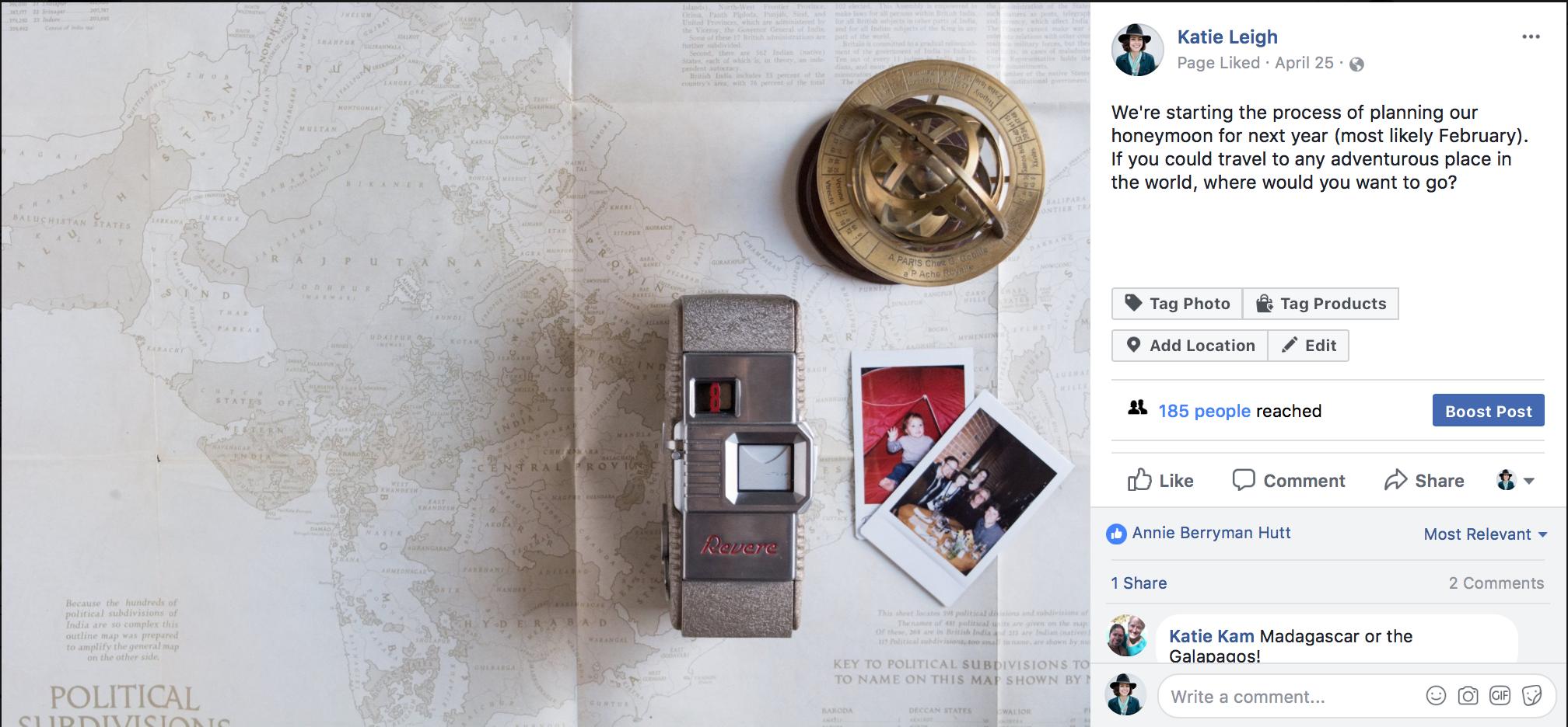 Posting the same image to multiple platforms