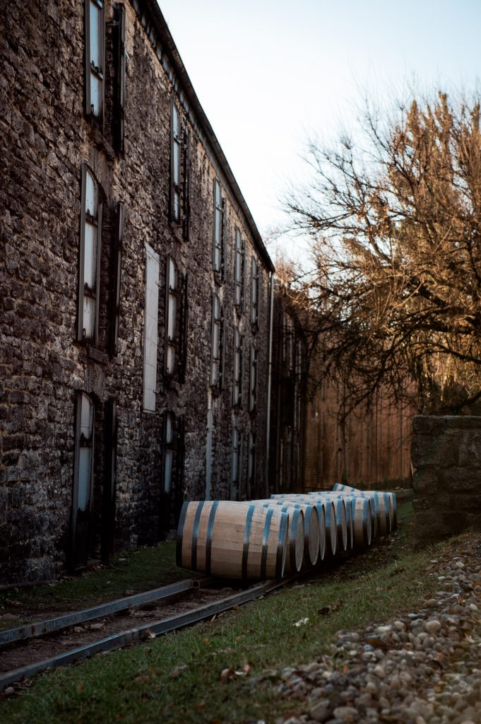 Behind-the-scenes photos that share your unique story at a distillery in Kentucky