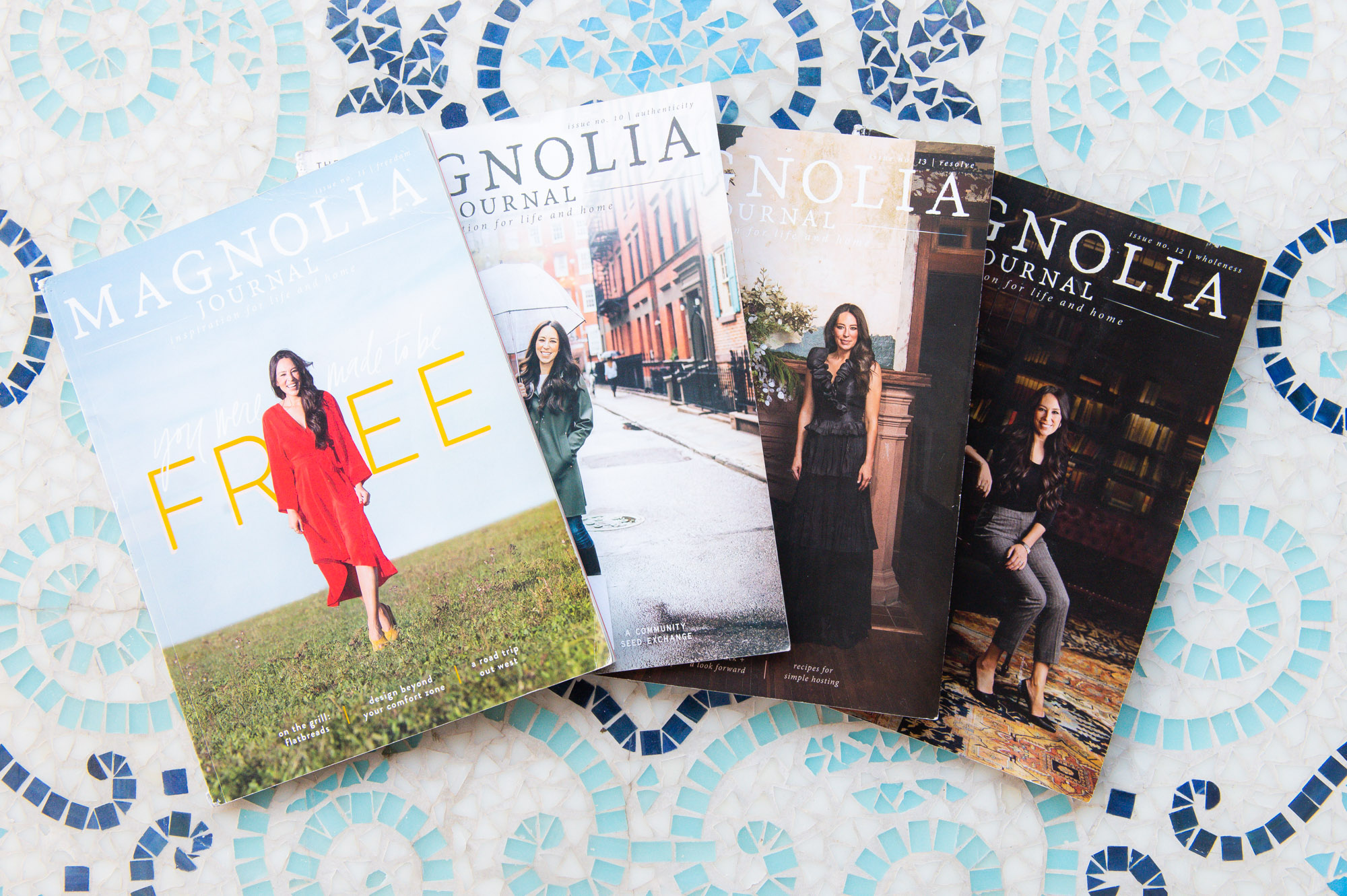 Mother's Day Gift idea for New Moms- Magnolia Journal subscription. 4 magazines for 1 year.