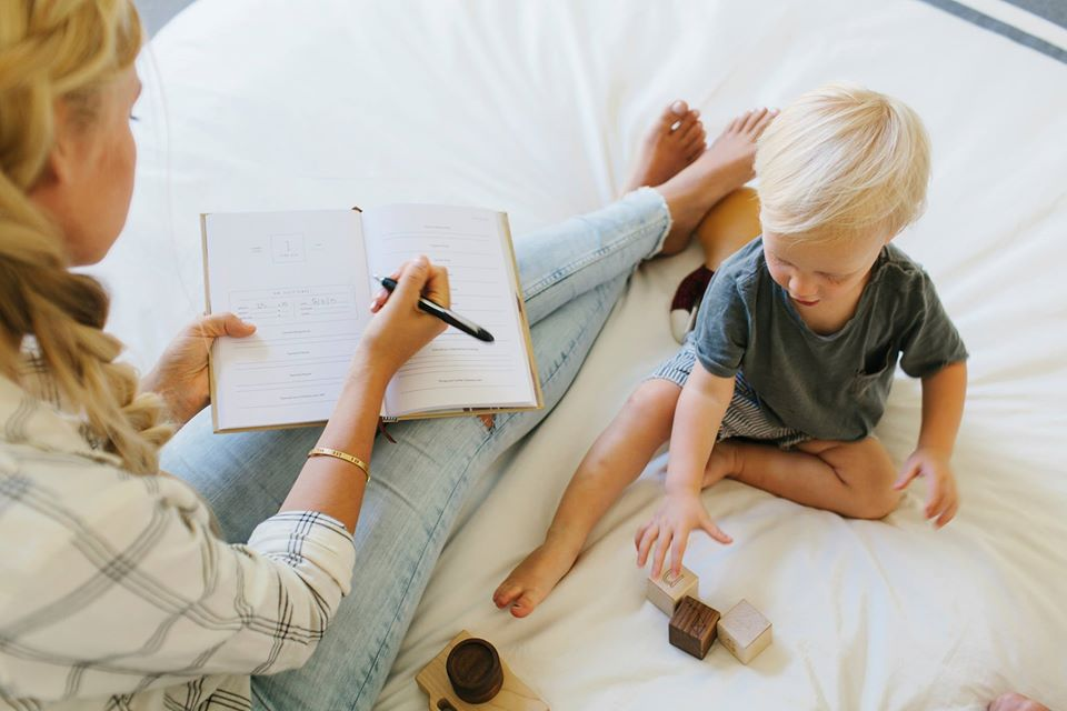 Mother's Day Gifts for New Moms - Promptly Childhood Journal