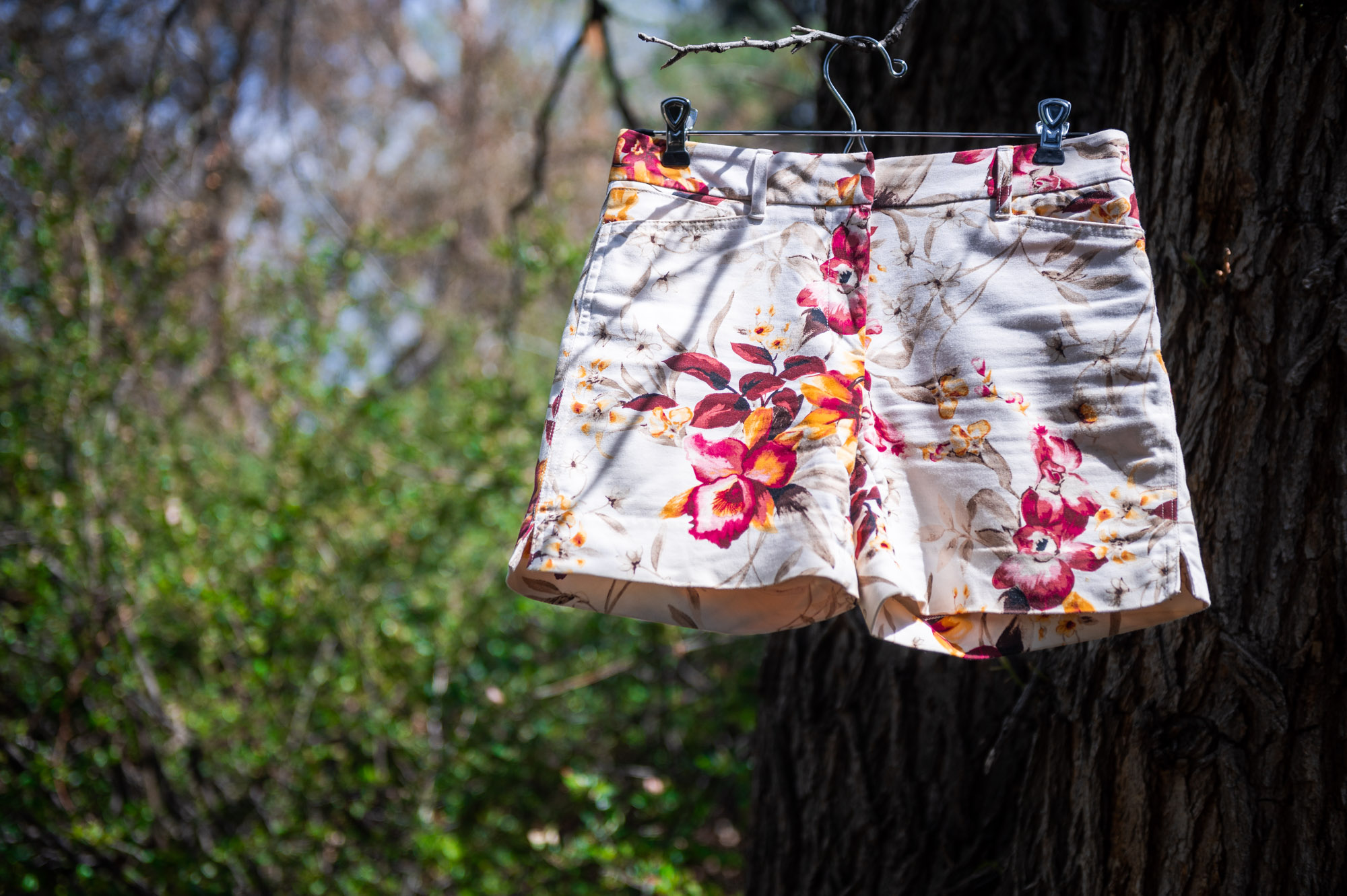 White House Black Marketing floral shorts are your Summer Basics