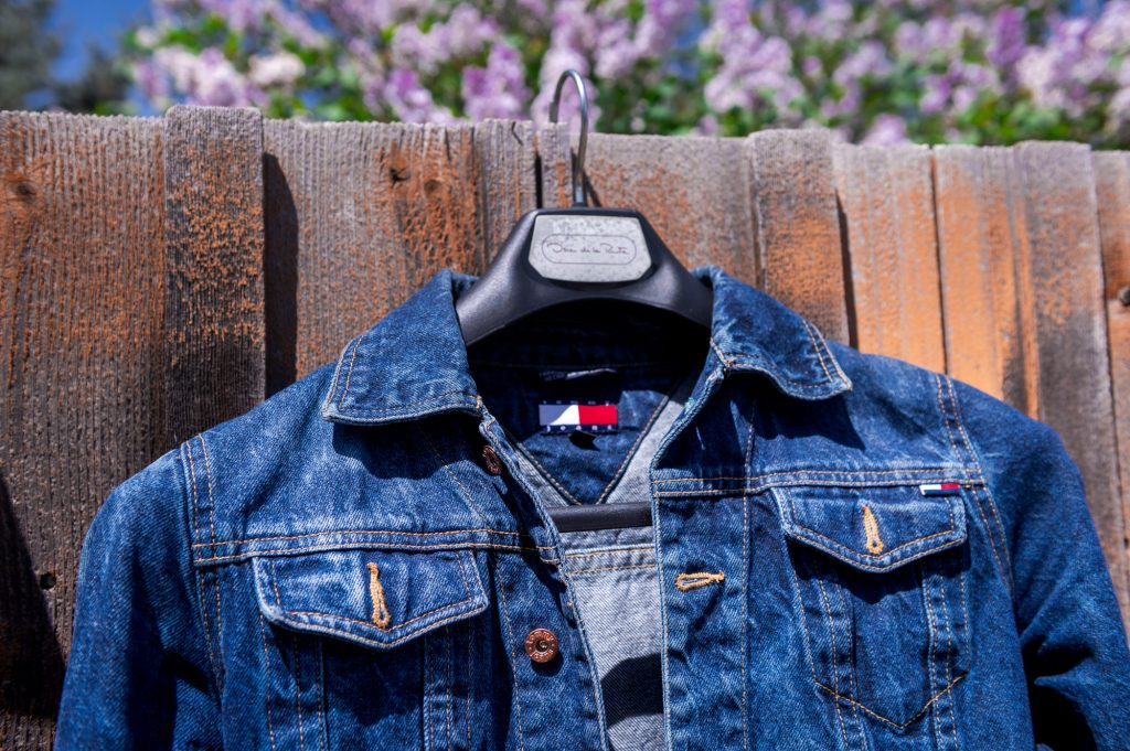 History of Blue Jeans, Denim Jacket from Tommy Hilfiger