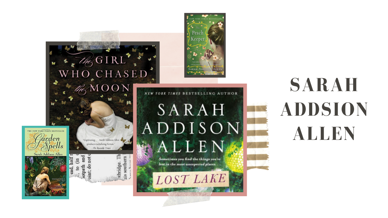 Lost Lake, The Girl that Chased The Moon, Garden Spells and The Peach Keeper by Sarah Addison Allen