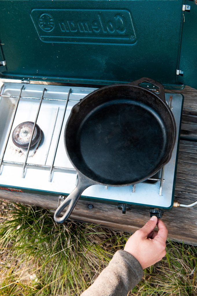 Lighting the Coleman Camp Grill