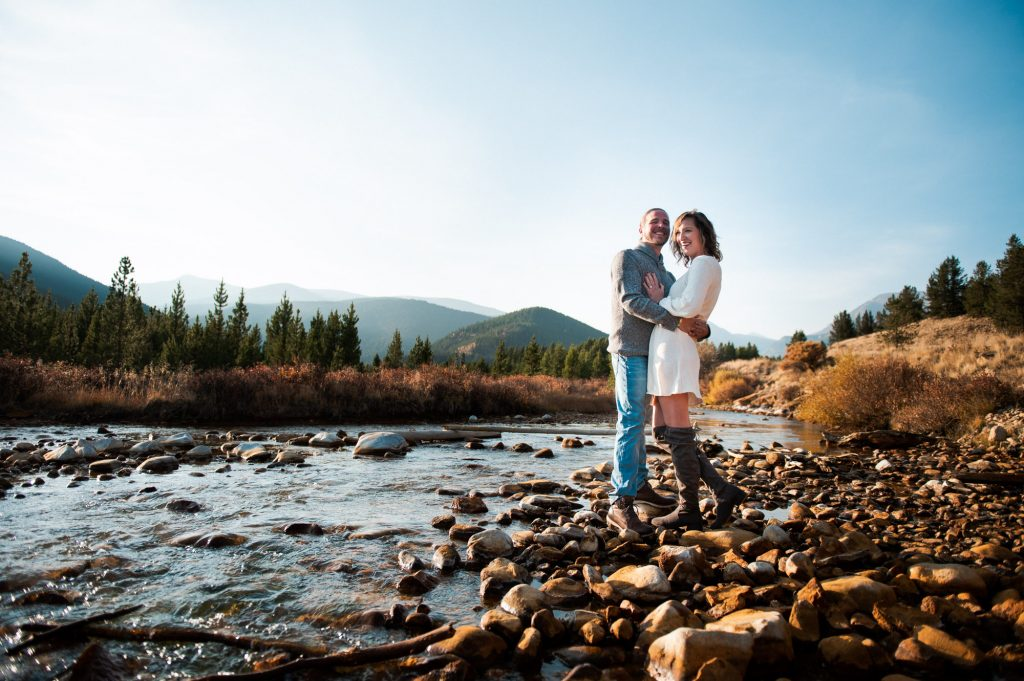 Rocky Mountain Engagement Shoot