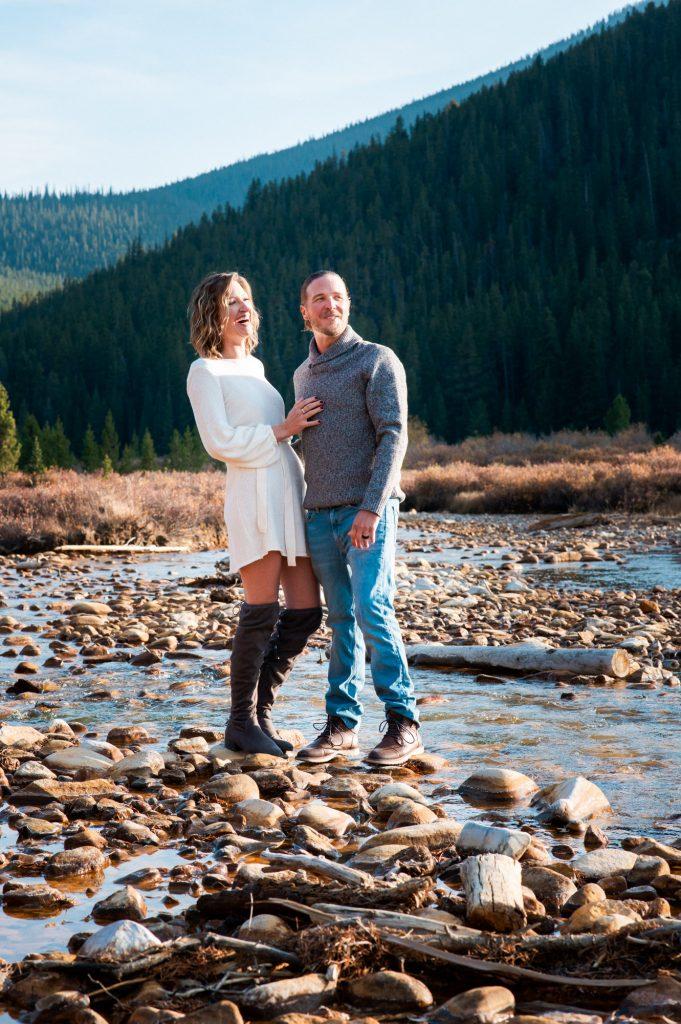 Rocky Mountain Engaged Photos