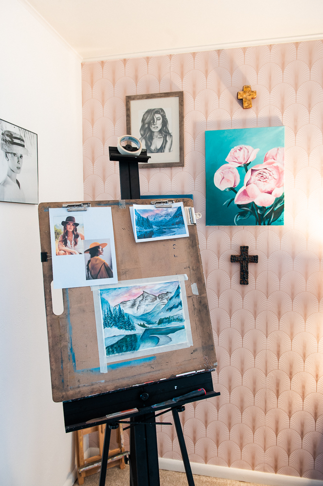 Artist Studio Home makeover
